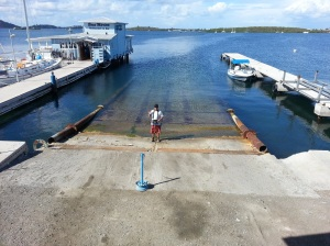 st martin shipyard back in water
