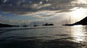 BVI virgin gorda mooring field