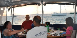 st martin kran anguilla dinner